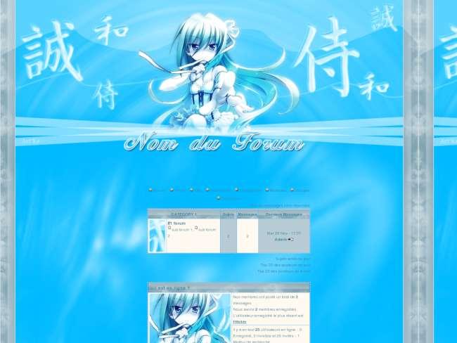 Blue japan