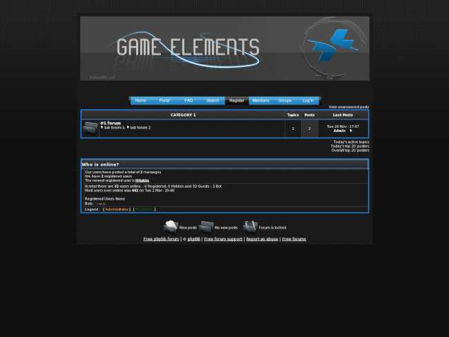 Game Elements Theme