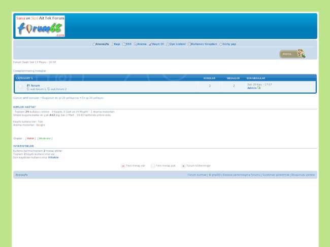 Forum68 || destek yetk...