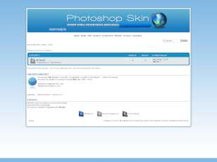 Photoshop skin (blue)v.1