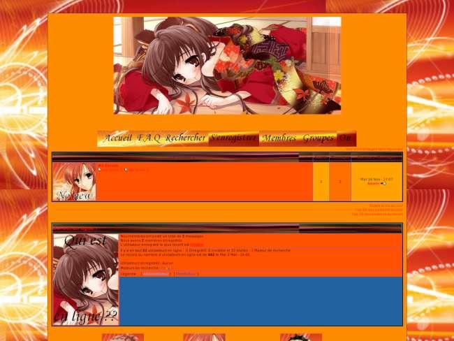 Autumn manga