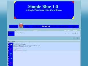 Simple blue v1.0