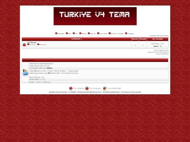 Yetkin Türkiye Teması v3.0