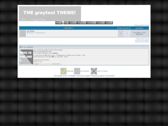 The Greytest THEME!