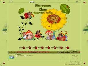 theme coccinelle
