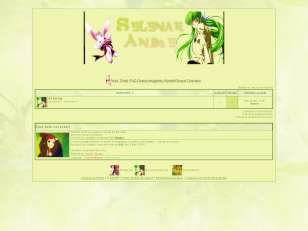 Green anime