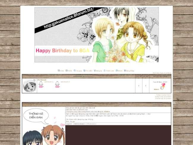 Birthday 8ga