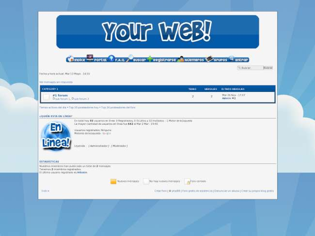 Your Web! Style
