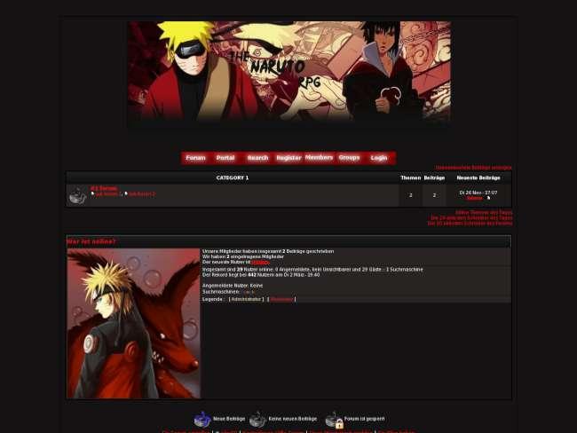 Naruto shippuuden black