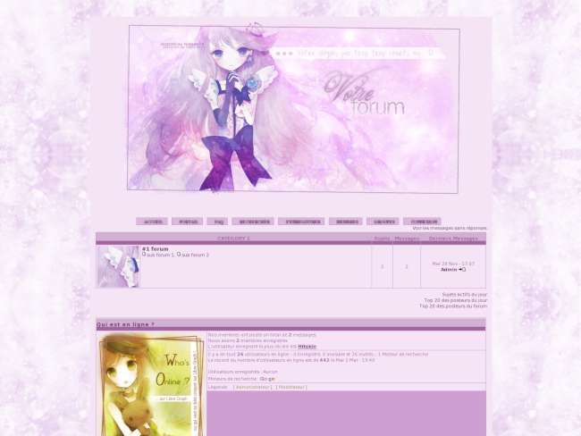 * lady purple