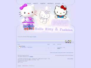Hello Kitty & Fashion