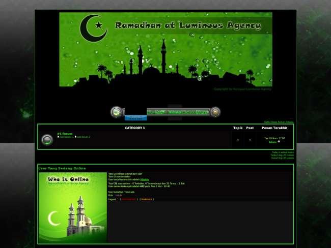 Luminous Ramadhan