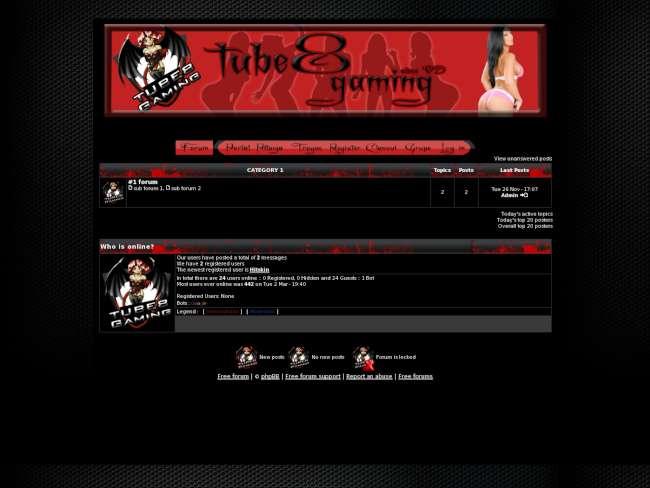 Tube8 gaming skin2