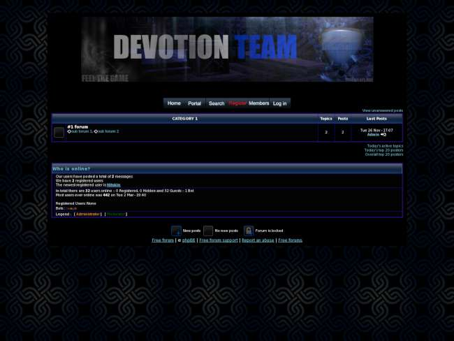 Dvt-team.com skin