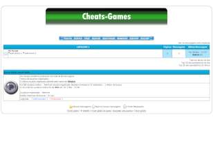 Cheats-games