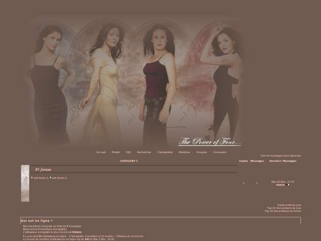 The witches of charmed4