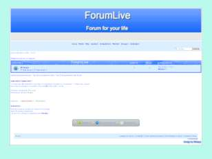 Forumlive - blue thems