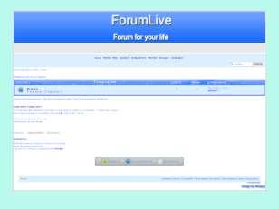 Forumlive - best forum...