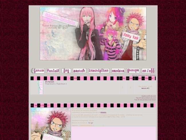 Pink hair by sei~ka