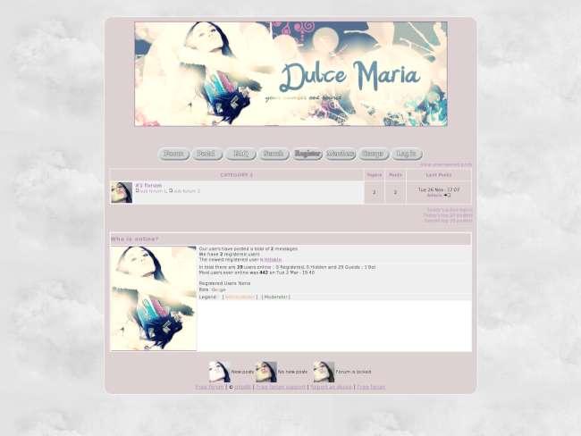 Dulce Maria--