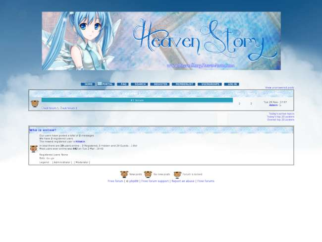 Heaven story layout