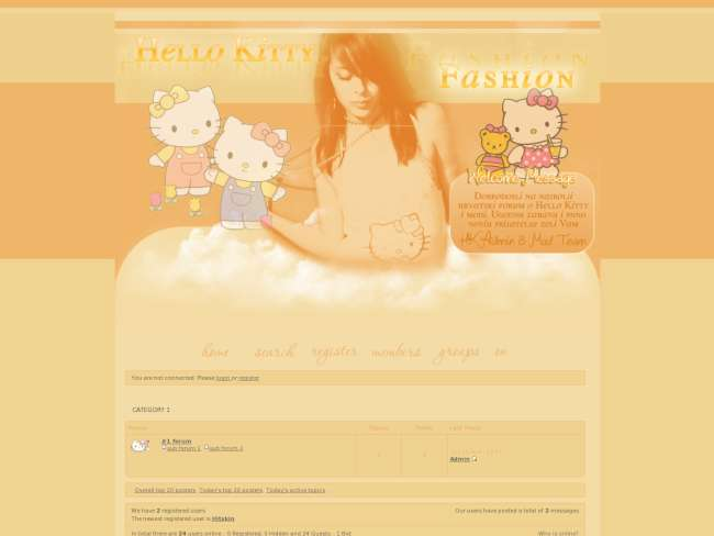 Hello Kitty & Fashion 2