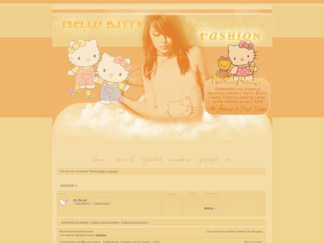 Hello Kitty & Fashion 2