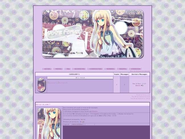 Stylisme manga