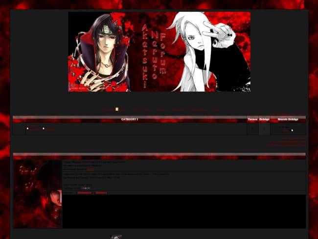 Akatsuki RPG Style