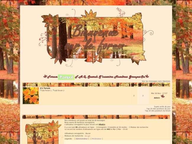 Ambiance automne