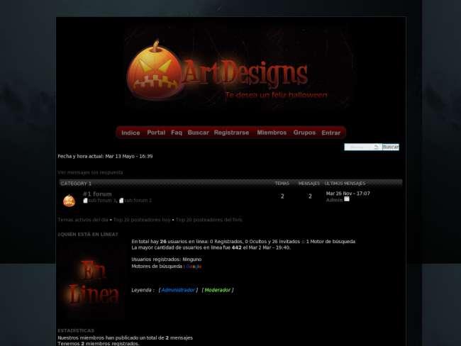 The artdesigns forum s...