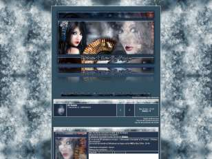 Thème Blue Geisha