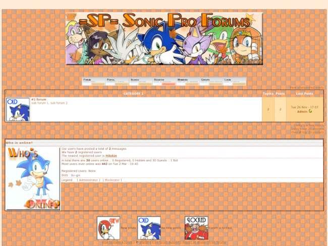=SP= Sonic Pro Fall Skin