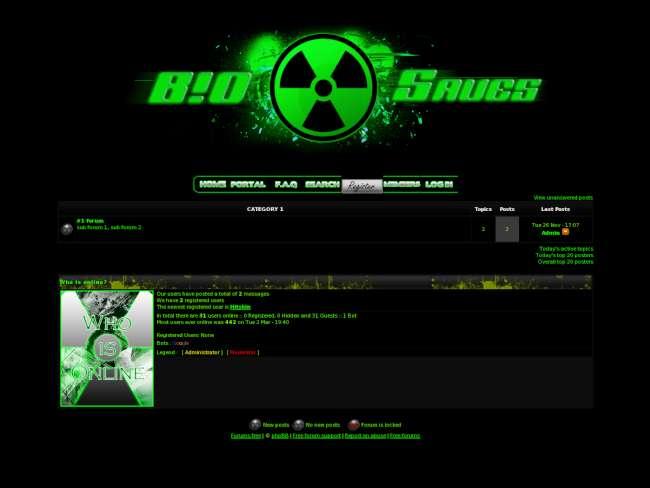 B!O~S4V3S forum skin