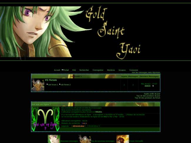 Gold saint shion