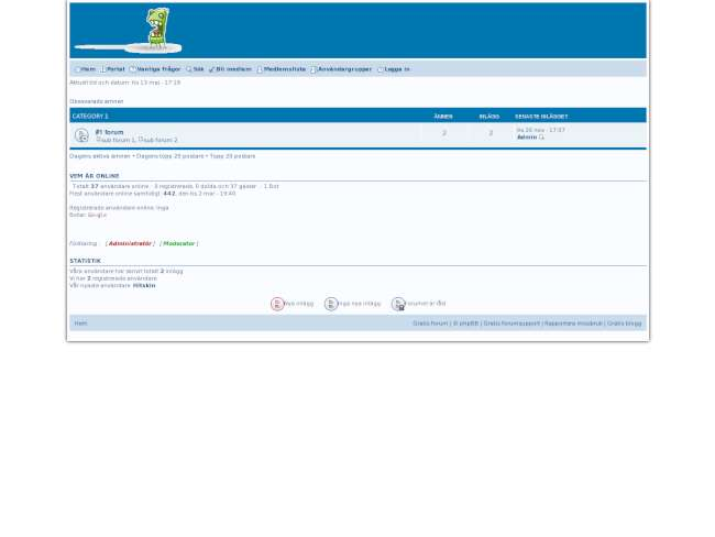 Simple blue Phpbb3