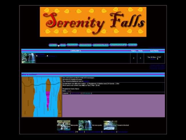 Serenity Falls Skin