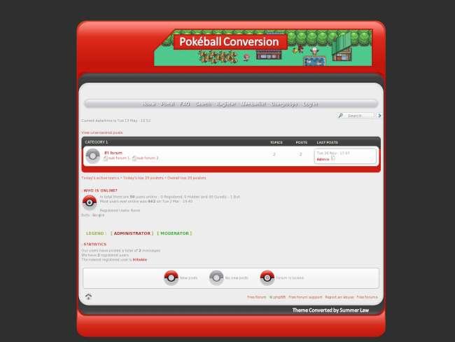 Pokeball Conversion
