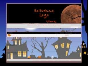 Halloween logo - hancki