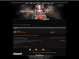 Dark Witch Halloween skin