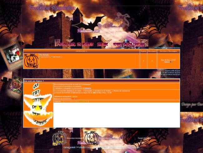 Hallowen 2010 : fcr