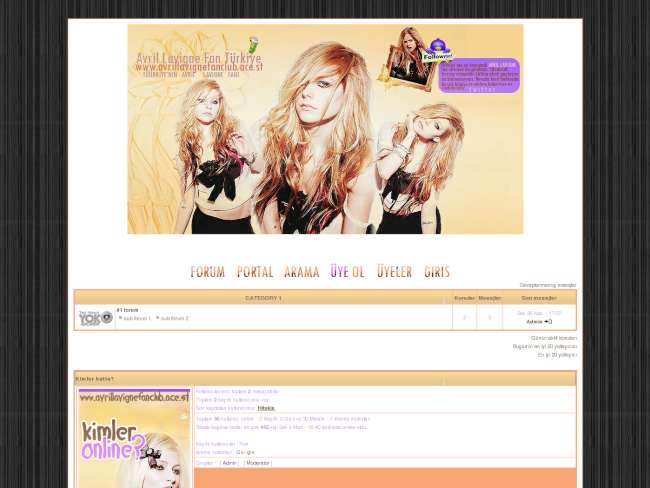Avril lavigne fan türk...