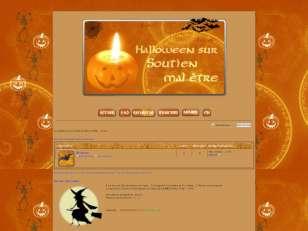 Soutien halloween