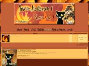 Chats halloween