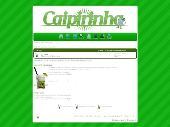 CAIPIRINHATHEME V3 Preview