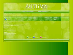Autumn green