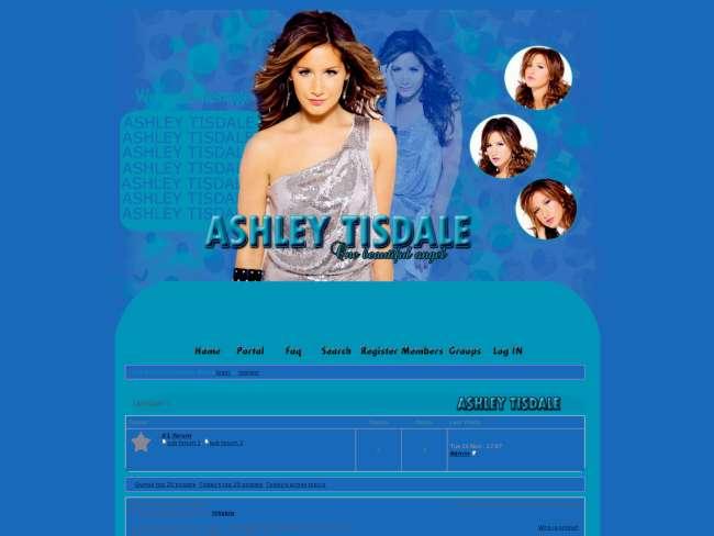 Ashley tisdale skin