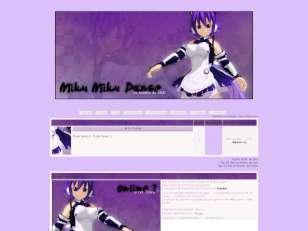 Miku miku dance thème ...