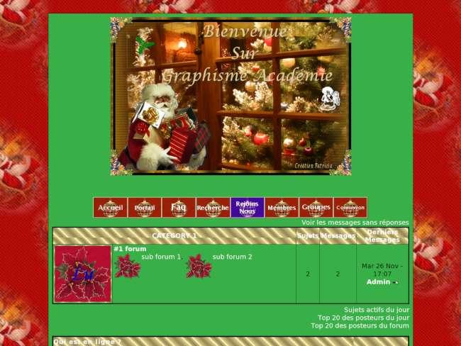 Thème Noël vert 2
