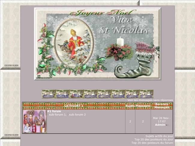Theme saint nicolas
